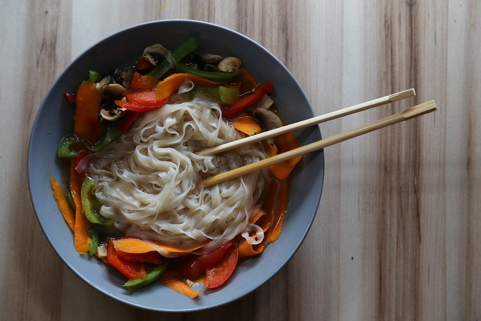 Orientální polévka