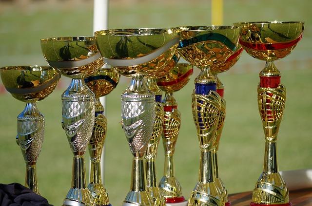 výherní poháry