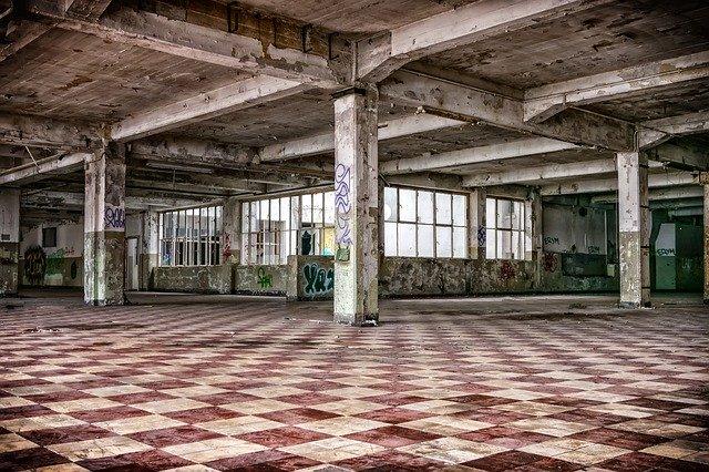 stará průmyslová hala